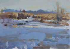"Quang Ho | ""Winter Sketch"" | East and East - Alternative Visions | Gallery 1261 :: Denver, Colorado"