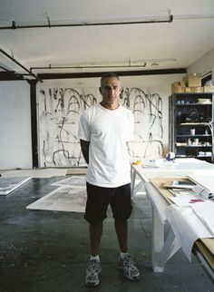 Christopher Wool is an American artist residing in NYC. Wool's incorporates issues on post-conceptual ideas.