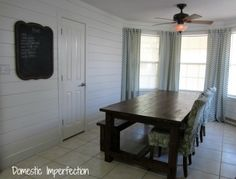 Dining Room Progress - Domestic Imperfection