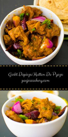 Kosha mangsho bengali hot and spicy goat curry recipe do pyaza or dopiaza is a south asian curry dish in this recipe forumfinder Images