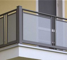 35 Awesome Balcony Railing Design Ideas To Beautify Your Exterior - There are some places in the home that need extreme protection. They are the balcony, staircase and other outdoor spaces in the home. Balcony Grill Design, House Gate Design, Window Grill Design, House Front Design, Glass Balcony Railing, Balcony Railing Design, Stair Railing, Veranda Railing, Steel Grill Design