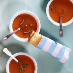 Dethaw your guests with mini grilled cheese and tomato soup. Serve soup in small bowls and cut grilled cheese sandwiches in quarters for bite-sized morsels.