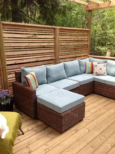 Some day...turn the outdoors into a modern retreat with Pier 1's Echo Beach Collection