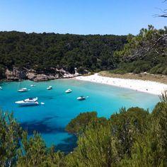 Cala Trebaluger, Menorca, Spain