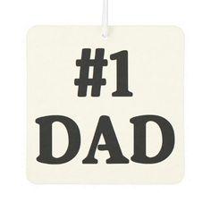 """#1 Dad"" Air Freshener"