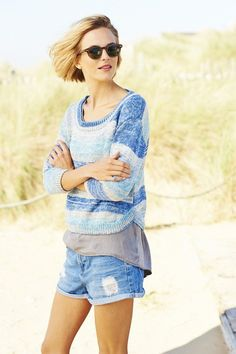 Stylecraft Sundae DK Pattern 9243 - Sweaters