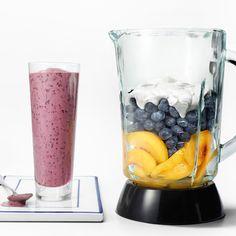 Image of summer power smoothie Nutribullet Recipes, Blender Recipes, Shake Recipes, Yummy Smoothies, Smoothie Drinks, Smoothie Recipes, Food Network Recipes, Gourmet Recipes, Healthy Recipes