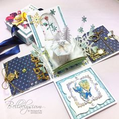 Explosion Box Inspiration: Beauty and the Beast - Bellaelysium