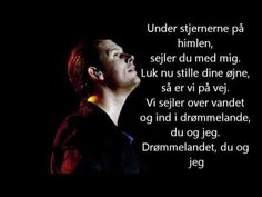 Rasmus Seebach - Under stjernerne på himlen (Lyrics) - YouTube