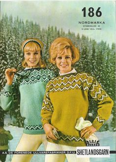 Norwegian Knitting, Knit Art, Drop Top, Pullover, Vintage Knitting, Sweater Weather, Christmas Sweaters, Knitting Patterns, Knit Crochet