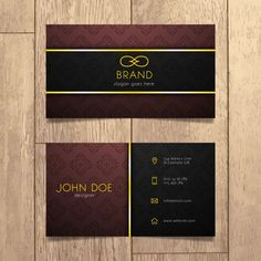 Luxury business card template PNG and Vector Modern Business Card, High Quality Business Cards, Free Business Card Design, Luxury Business Cards, Business Card Psd, Custom Business Cards, Prospectus, Vip Card, Visiting Card Design