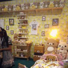 bagel-dere: So cute #animeexpo #rilakkuma #cute