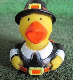 Pilgrim ducky