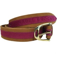 Leather and Suede Contrast Fuchsia Belt from Annabel Brocks. With a simple brass stirrup buckle they are the perfect all round belt. They look amazing with jeans and breeches. Designed and manufactured in the UK. Contrast, Fashion Accessories, Product Launch, Brass, Contemporary Clothing, Leather, How To Wear, Success, Neon