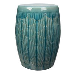 "Better Homes & Gardens 17"" Marina Ceramic Garden Stool, Multiple Colors - Walmart.com"