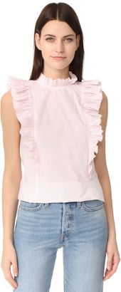 Shop Now - >  https://api.shopstyle.com/action/apiVisitRetailer?id=631437260&pid=uid6996-25233114-59 Rebecca Taylor Sleeveless Pop Pleat Top  ...