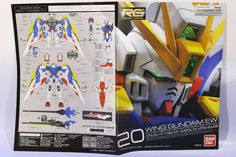 RG 1/144 WING GUNDAM EW: BOX OPEN REVIEW [Big Size Images] http://www.gunjap.net/site/?p=290267