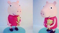How To Make a Standing Peppa Pig Cake - 3D Peppa Pig Cake