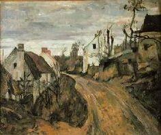 Paul Cézanne - The Village Road, Auvers