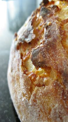Super Amazing Easy Crusty Bread