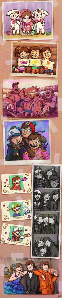 Tyrone,Mabel and Dipper together😍👦👧👦Gravity Falls❤💜 Anime Gravity Falls, Gravity Falls Fan Art, Gravity Falls Comics, Gravity Falls Journal, Gravity Falls Dipper, Monster Falls, Gavity Falls, Fall Anime, Desenhos Gravity Falls