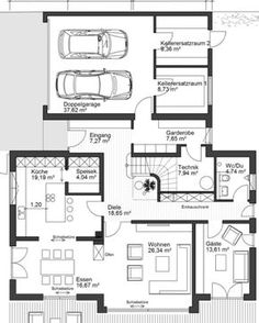 Trendy home renovation flooring house plans The Plan, How To Plan, Future House, My House, Trendy Home, Home Renovation, Modern Architecture, House Plans, Sweet Home