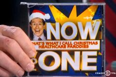 "Must-see morning clip: Stephen Colbert presents his ""Christmas healthcare parodies"" album. #expatsadventures,#expatscommentary,#politicalhumor. Visit my blog and subscribe and follow me on my adventures and commentaries living on a remote Caribbean island. www.waitingforaboattocome.com."