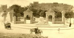 Mall at Floriana Malta circa 1890s