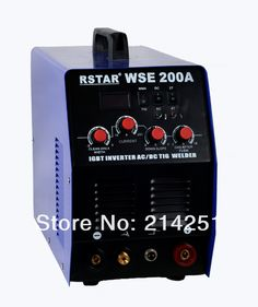 AC DC TIG welding machine (IGBT rstar)