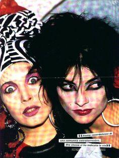 Lene Lovich and Nina Hagen