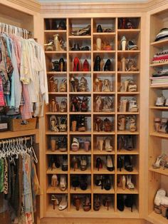 Section just for shoes