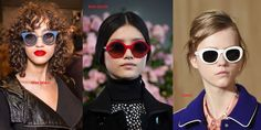 Sunglasses For this season, there were a lot of clear lens sunglasses on the runways but also trending – colour block frame sunglasses (Carolina Herrera, Marni, Fendi, Chloé etc), embellished… Colour Block, Color Blocking, Leather Ring, Sunglass Frames, Carolina Herrera, Color Trends, Marni, Fendi, Fall Winter