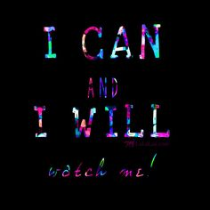 I can and I will - watch me! Some #lacrosse motivation for you on this rainy Monday! Lax on! LuLaLax.com