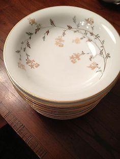 Noritake China Florence Pattern 5528 Fruit Dessert Bowls   eBay