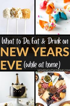 2020's been crazy, and now it's finally time to ring in the new year! We've found unique new years eve ideas to help you celebrate at home! Pink Champagne Cupcakes, Easy Homemade Cookies, New Year's Eve Countdown, New Year's Eve Activities, New Year's Eve Cocktails, New Year's Cake, Holiday Fun, Holiday Themes, Holiday Ideas