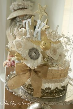 birthday crown by shabbyscraps, via Flickr