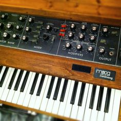 The best synthesizer, ever. #minimoog