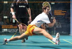 Squash: Well-established, successful and growing men's and women's tours; spanning every corner of the globe from Europe, Asia, the Americas, Africa to Oceania.