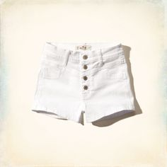 Chicas - Shorts de tiro alto Hollister | Chicas - Partes inferiores | eu.HollisterCo.com