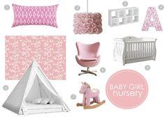 Baby Girl Nursery...so pretty