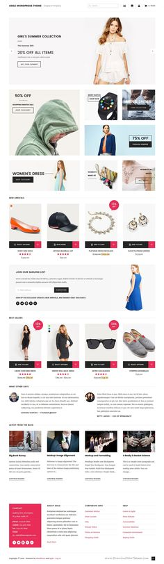 Agile is a clean, simple and lightweight WordPress theme suitable for #Blogging or Online #Shopping or eCommerce #website. Download Now!