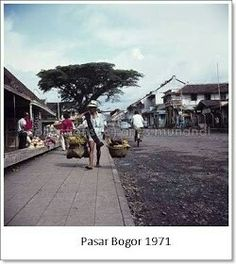 Pasar Bogor 1971