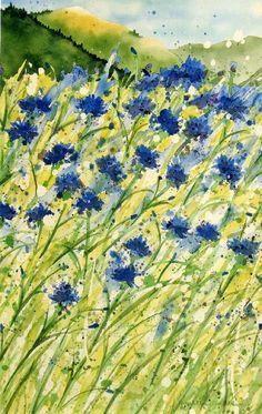 Elizabeth Anderson watercolor artist in Hood River Oregon