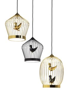 Pendant Lamps: Lamp Twee T. by Casamania