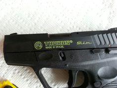 Easy custom paint for firearm engravings.
