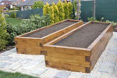 Building A Raised Garden, Raised Garden Beds, Small Backyard Gardens, Outdoor Gardens, Backyard Projects, Garden Projects, Wicking Garden Bed, Raised Planter, Garden Architecture