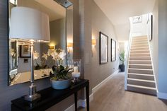 Image result for show home hallway