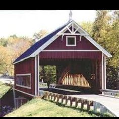 special place in my heart for covered bridges <3