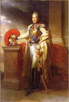 Charles-Philippe of France, Count of Artois, in the uniform of colonel-general of the carabinieri, by François Gérard (1815, collection of Versailles).