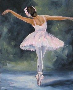 40 Graceful Ballet Painting Ideas is part of pencil-drawings - the above graceful ballet painting ideas are the best So, why wait If you have got the skills to paint and you have the time and patience needed to go Ballet Poses, Ballet Art, Ballerina Kunst, Ballet Drawings, Ballerina Painting, Abstract Painting Techniques, Dance Paintings, Silhouette Painting, Buddha Painting